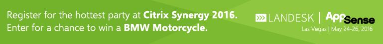 AppSense - Citrix Synergy 2016