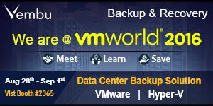 vembu - Banner A - vmworld 2016