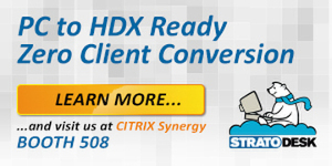 Stratodesk - Citrix Synergy 2017 - A