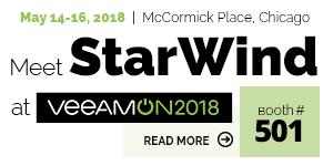 StarWind - VeeamOn 2018A