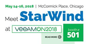StarWind - VeeamOn 2018B