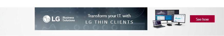 Transform your I.T. with LG Thin Clients