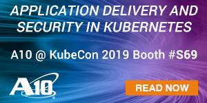 A10 Networks - KubeCon 2019 - A