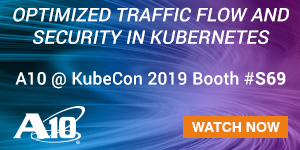 A10 Networks - KubeCon 2019 - B