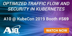 A10 Networks - KubeCon 2019 - B