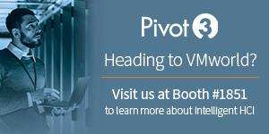 Pivot3 - vmworld 2019 - A