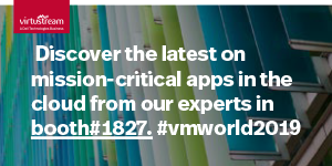 virtustream - vmworld 2019 - A