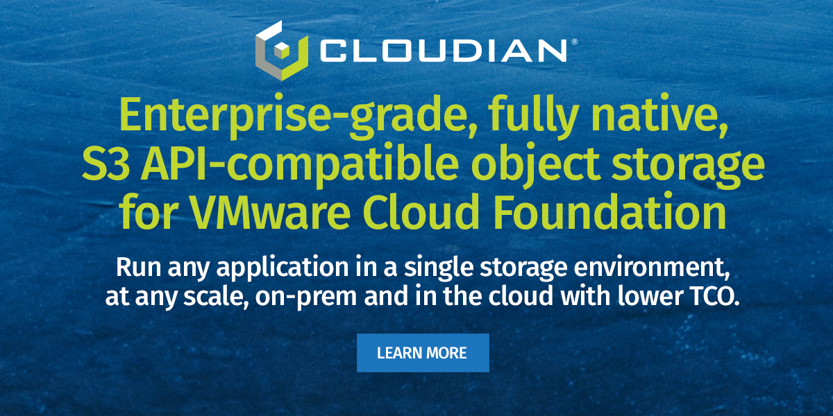 Cloudian - vmworld 2020 - A