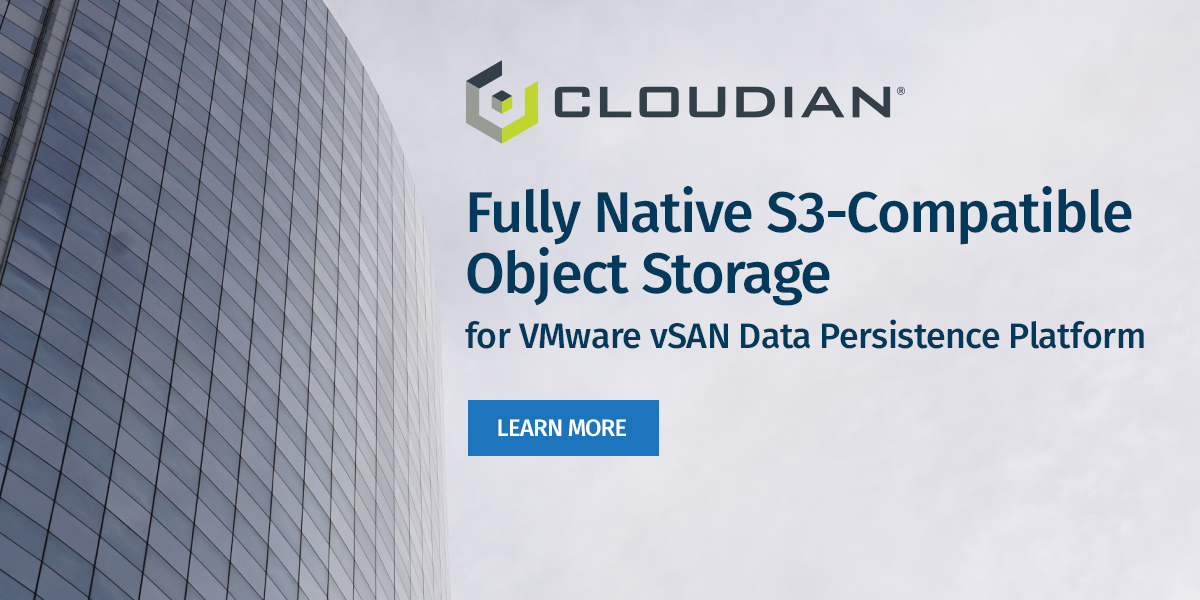 Cloudian - vmworld 2020 - B