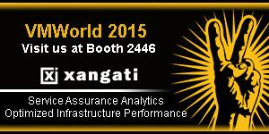 Xangati Banner B - vmworld 2015