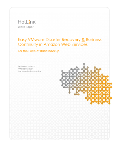 Easy VMware Disaster Recovery & Business Continuity in Amazon