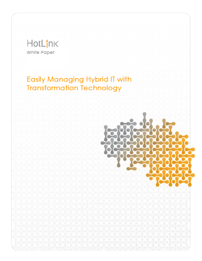 Easily Managing Hybrid IT with Transformation Technology