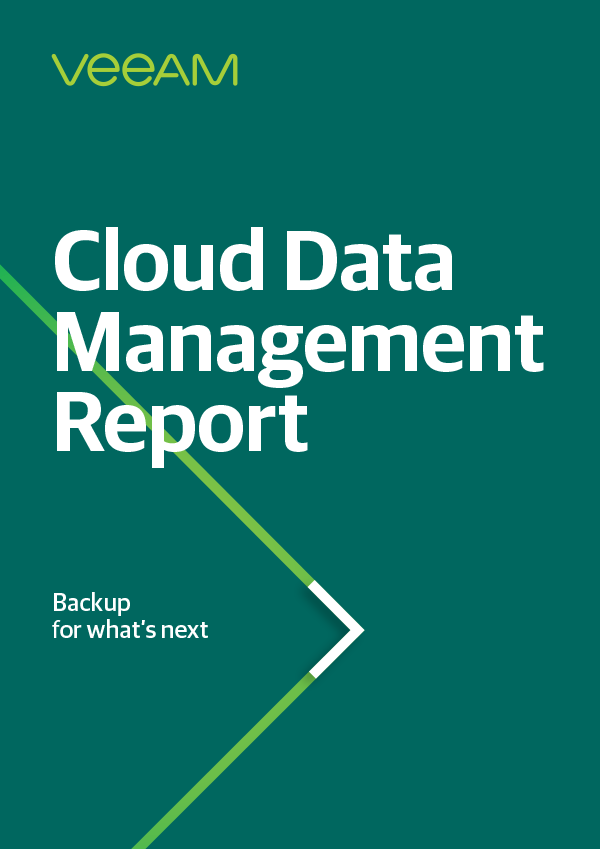 Executive Brief: 2019 Veeam Cloud Data Management Report