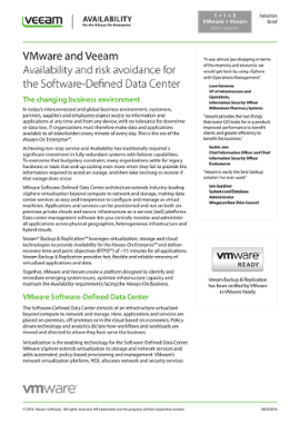 vmware software defined data center solution brief preview general