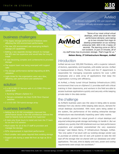 Case Study: AvMed