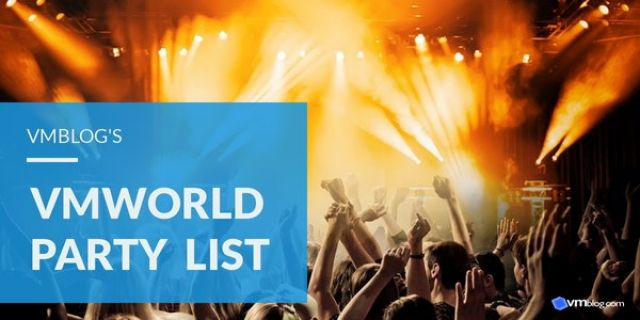 VMworld 2019 US Party List