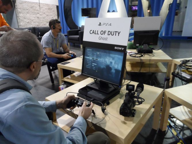 Call Of Duty in the GameZone