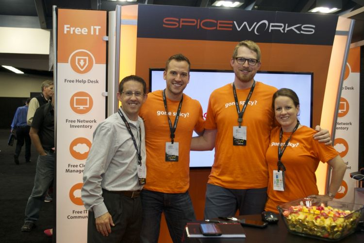 Spice Works Booth